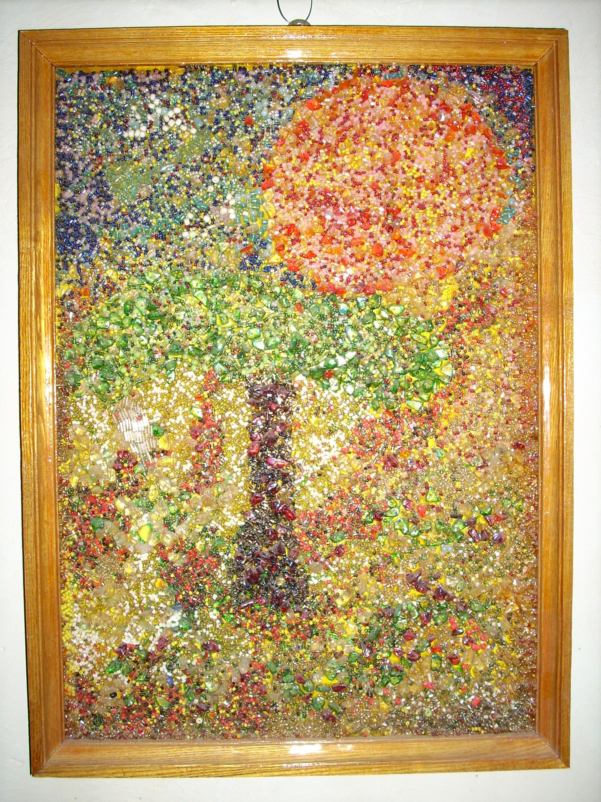 Мозаика из бисера фото